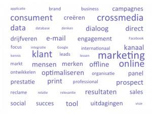 Wordcloud Dialoogmarketing