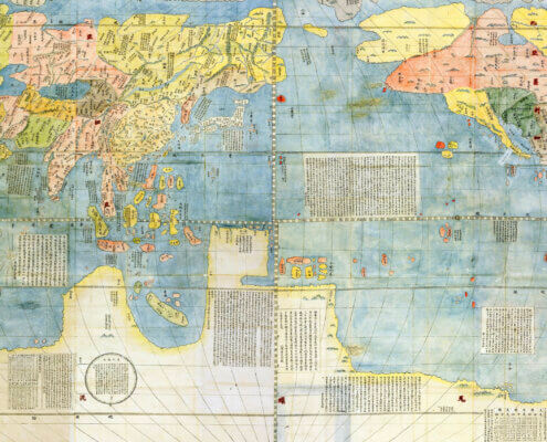 World Map by Matteo Ricci
